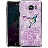 Samsung Galaxy A3 (2016) Housse Étui Protection Coque Colibri Oiseau Peinture à l'eau