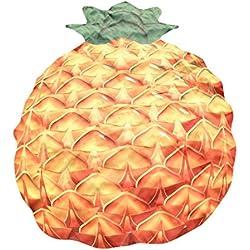 VENMO Fruta Diseño Bohemio Hippie Tapiz Playa Picnic Manta Yoga Mat Toalla,147*120cm (Piña)