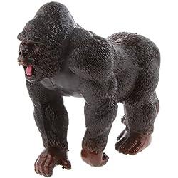 Juguetes de Peluches Modela de la Figura de Animal Vivos de Mini Gorila Plástico