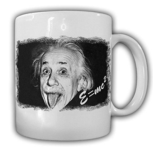 Albert Einstein E=mc² theoretischer Physiker Gravitation Quantenphysik Bild Unterschrift- Tasse Kaffee Becher #15024 (Einstein-bild)