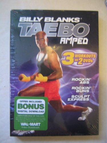 Billiy Blanks Tae Bo Amped: Rockin Abs, Rockin Buns & Sculpt Express (2-DVD-Set) (Tae Bo-dvd-set)