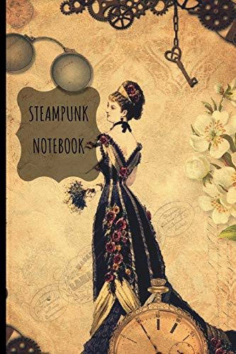 Steampunk  Notebook: Journal -  Small Lined  (6