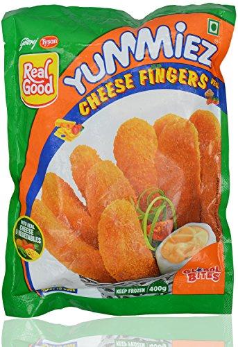 Yummiez Veg Cheese Fingers Pouch, 400 g