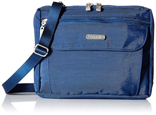 Baggallini WAN839 Wander Crossbody Reisetasche für Erwachsene, Pacific (Blau) - WAN839PI -