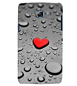 Citydreamz Red Heart/Water Drops/Love/Valentine Hard Polycarbonate Designer Back Case Cover For Samsung Galaxy J2