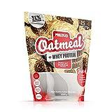 Prozis Oatmeal with Whey Protein 1000g - Farina D'Avena, Cereali Ricchi di Carboidrati di Alta Qualità e Fibre Sazianti - Al Gusto Bonbon - Adatto per Vegetariani - 12 Porzioni