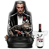 Themen-Sitzbezug/Autositz-Bezug cooles Motiv inkl. Mini-Shirt: The Godfather - geniales Geschenk