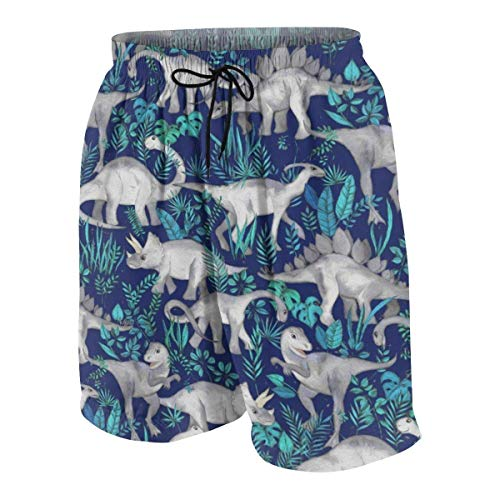 magic ship Dinosaur Jungle Boys Beach Shorts Quick Dry Beach Swim Trunks Kids Swimsuit Beach Shorts,Boys' Assist Basketball Shorts M Glory Boys Jeans
