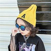 ETMAAA Baby Curling Wollmütze Herbst und Winter Strickmütze Jungen und Mädchen Gehörschutz Warm Caps Kinder Hut