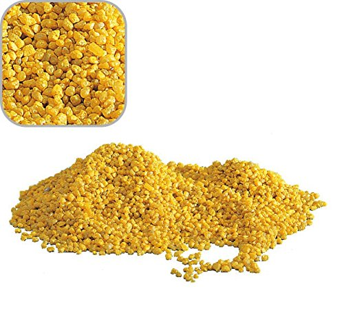 20 Kg Gelben Quarzkies 'Premium Qualität' 2-3 mm Bodengrund Aquarium Kies Sand