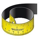 Westcott E-15990 00 Lineal flexibel mit magnetischer Rückseite, 30 cm