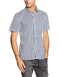 Esprit 056ee2f001-Striped, Chemise Homme