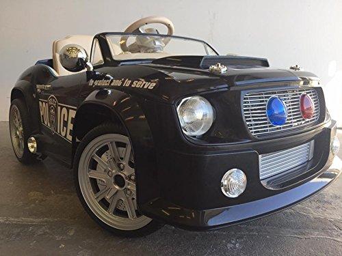 Kinderfahrzeug - Elektro Polizei Auto