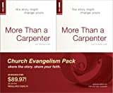 More Than a Carpenter 30 Pack, Church Evangelism Pack 30-Pack