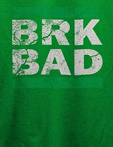 Brk Bad Vintage T-Shirt Grün