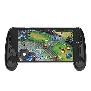 GameSir F1 Controller Handle Holder Handgrip Handle Grip Case with Joystick for Mobile Phone, Ergonomic Design to Improve Grip and Comfort, Support 4.5''-6.5'' Smartphone