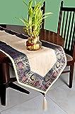 Vintage handgefertigt Jute Lange Tischläufer Garten Kaffee Tischläufer