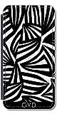 DesignedByIndependentArtists Leder Flip Case Tasche Hülle für Samsung Galaxy Ace 3 (S7272/A7275) - Zebra by Juni
