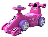 #4: EZ' PLAYMATES BABY RIDE ON FORMULA CAR PINK