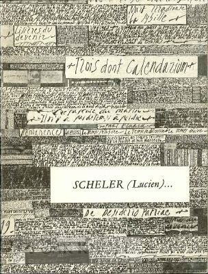 Scheler (Lucien)... Catalogue par Antoine Coron.