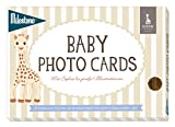 Milestone Baby Cards - Sophie la girafe Baby photo cards - deutsche Version 24 Fotokarten