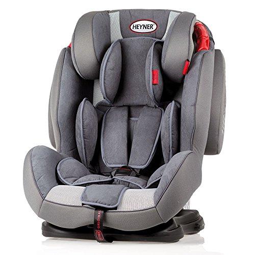 Preisvergleich Produktbild Heyner 786020 Kindersitz Capsula Multi ERGO 3D (I, II, III), Koala Grey
