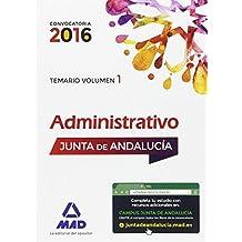 Paquete Ahorro Administrativo (promoción interna) Junta de Andalucía. Ahorra 81 € (incluye Temarios volúmenes 1 y 2, Test y acceso a Campus Oro)