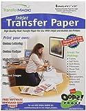 Transfer Magic 8,5x 27,9cm ink jet Transfer Papier, 6Stück