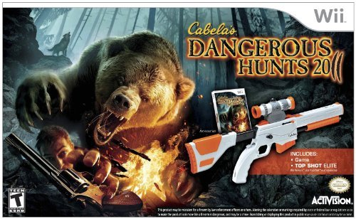 Top-shot-elite-wii (Cabela's Dangerous Hunts 2011 with Top Shot Elite - Nintendo Wii by Activision)