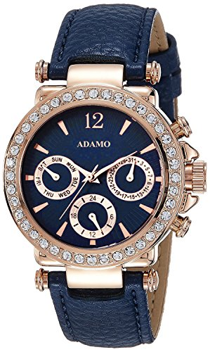 ADAMO Multifunction (Inner Hands Working) Women Wrist Watch A208KB05