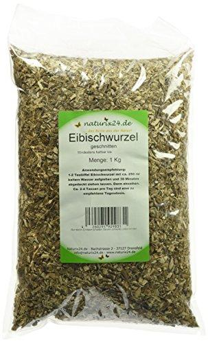 Naturix24 Eibischwurzeltee, Eibischwurzel geschnitten, 1er Pack (1 x 1 kg) -