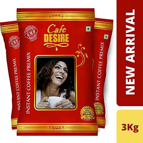 Cafe Desire Instant Coffee Premix (Combo) - 3 Kgs (New...