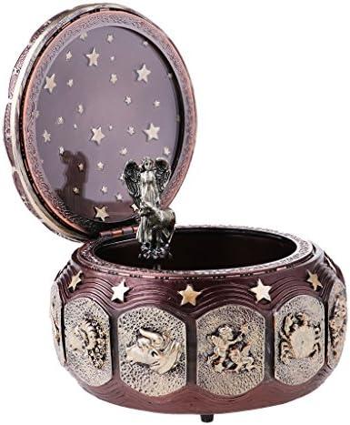 MagiDeal Boîte à à à Musique Mécaniques Rétro thème à Constellation en Résine - Bronze | Shopping Online  694482