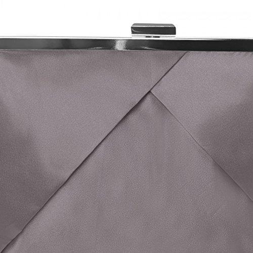 CASPAR Fashion, Poschette giorno donna (Marrone)
