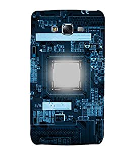 printtech Nerd Circuit Electronics Back Case Cover for Samsung Galaxy Grand Prime G530h
