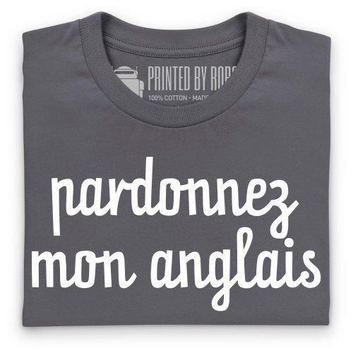 Pardonnez T-shirt, Uomo Antracite