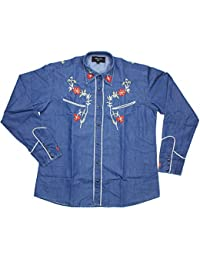 Redstar rodeo shirts men clothing for Ranch dress n rodeo shirts