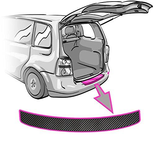 Preisvergleich Produktbild CCW© - Ladekantenschutz für X1 E84 in 3D CARBON SCHWARZ Folie - passend für X1 E84 – Schutzfolie