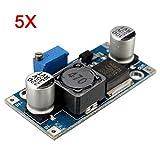 LaDicha 5 Stücke 4A Xl6009E1 Einstellbare Dc-Dc Step Up Boost Converter Netzteilmodul