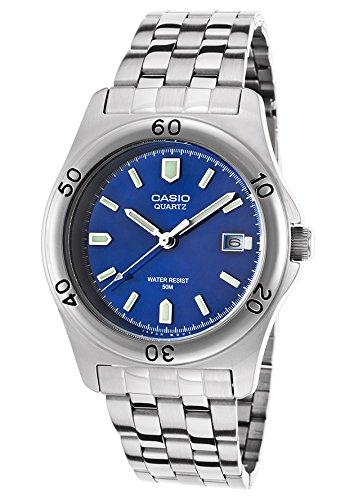 Casio MTP-1213A-2AVDF – Reloj (Reloj de pulsera, Acero inoxidable, Acero inoxidable, Acero inoxidable, Acero inoxidable, Mineral)