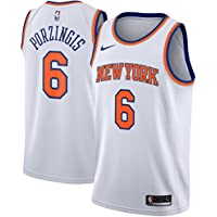 Nike NBA New York Knicks Kristaps Porzingis 6 2017 2018 Association Edition Jersey Official, Camiseta