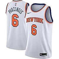 Nike NBA New York Knicks Kristaps Porzingis 6 2017 2018 Association Edition Jersey Official, Camiseta