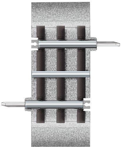 Lionel 1–3/20,3cm Track Abschnitt (Zug Lionel O)
