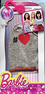 Barbie Fashion Heather Heart Tank, Multi Color
