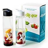 Infuser Trinkflasche - 2er Set - Fruchtschorlen im Handumdrehen - 100% BPA frei - Kostenloses...