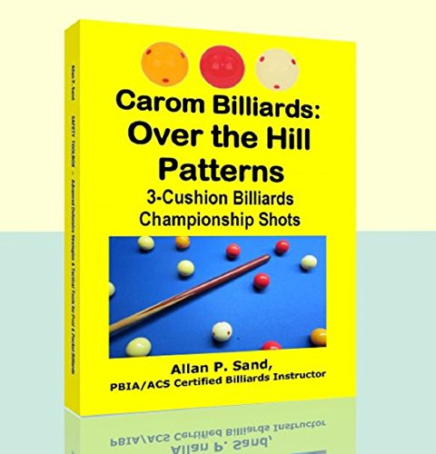 Carom Billiards: Over the Hill  Patterns: 3-Cushion Billiards Championship Shots (English Edition)