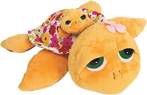 lil-peepers-14211-suki-gifts-sunshine-schildkrte-mama-mit-baby-29-cm-gelb