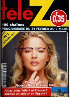 TELE Z [No 1276] du 24/02/2007 - VIRGINIE EFIRA