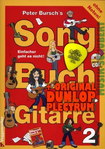 Peter Bursch S Song libro per Band 2(+ CD) con plettro per chitarra. Semplice non va. Con Canzoni di Rolling Stones, Limp Bizkit, Jonny Cash e altri (libro chitarra Peter Bursch) (Borsa Libro) (Note e spartito), in lingua tedesca
