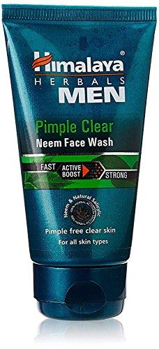 Himalaya Männer Pimple Klar Neem Face Wash, 50ml - 50 Ml Face Wash